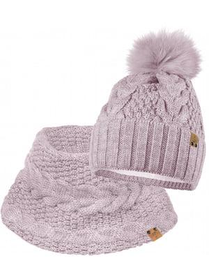 Комплект: шапка і шарф-снуд | 5336771