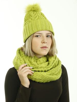 Комплект: шапка і шарф-снуд | 5336772
