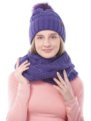 Комплект: шапка і шарф-снуд | 5336773