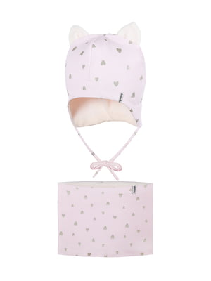 Комплект: шапка і шарф-снуд | 5336787