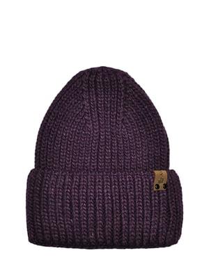 Шапка фіолетова | 5336938