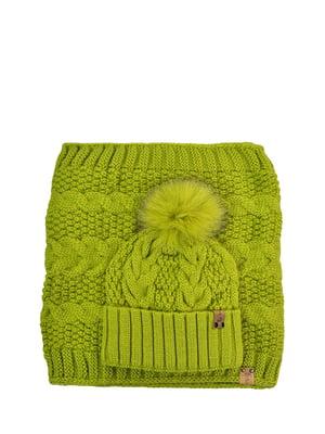 Комплект: шапка і шарф-снуд | 5336951