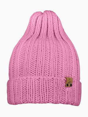 Шапка розовая | 5337844