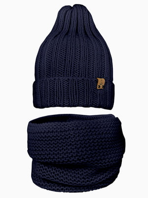 Комплект: шапка и шарф-снуд | 5336983