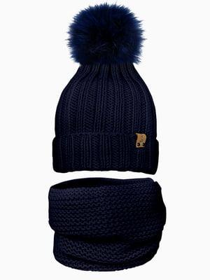 Комплект: шапка і шарф-снуд | 5336999