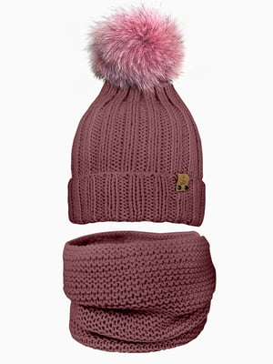 Комплект: шапка і шарф-снуд | 5336997