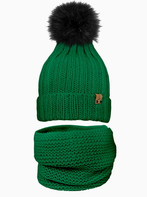 Комплект: шапка і шарф-снуд | 5336998