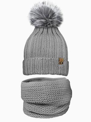 Комплект: шапка и шарф-снуд | 5337000
