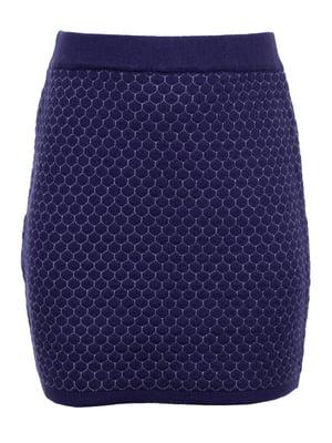 Спідниця синьо-сіра | 5327952