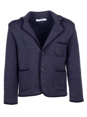 Піджак сіро-чорний | 5327956