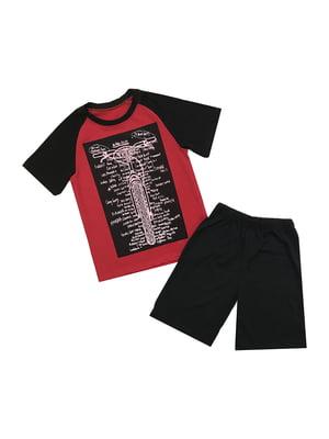 Костюм: футболка и шорты | 5339303