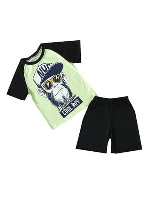Костюм: футболка и шорты | 5339304