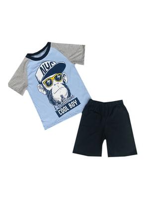 Костюм: футболка и шорты | 5339305