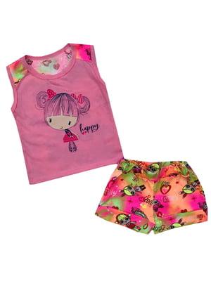 Комплект: майка и шорты | 5339331