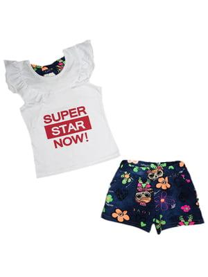 Комплект: майка и шорты | 5339330