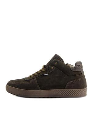 Ботинки оливкового цвета | 5339897
