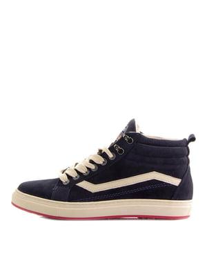 Ботинки синие | 5339901