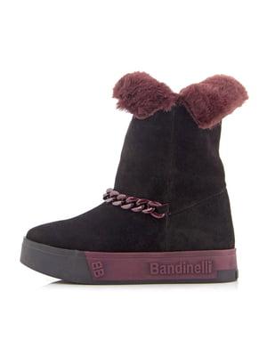 Ботинки бордовые | 5339923