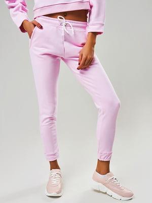 Штани спортивні рожеві | 5340019