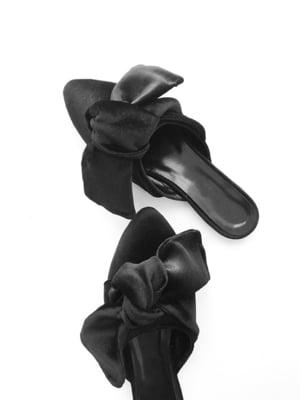 Шлепанцы черные   5340116