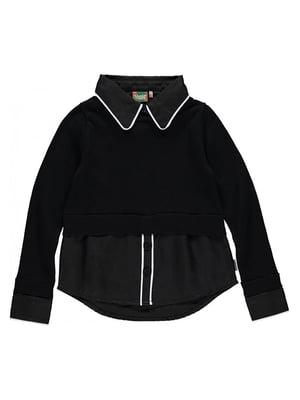 Блуза чорна | 5340943