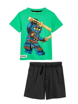 Пижама: футболка и шорты | 5340972
