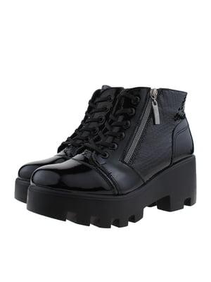 Ботинки черные | 5341120