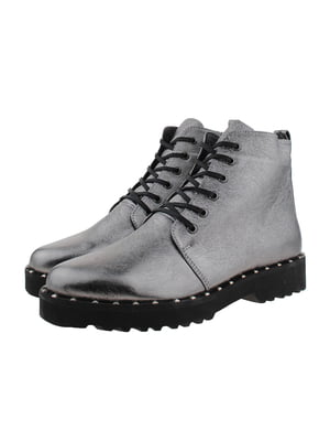 Ботинки никелевого цвета | 5341126