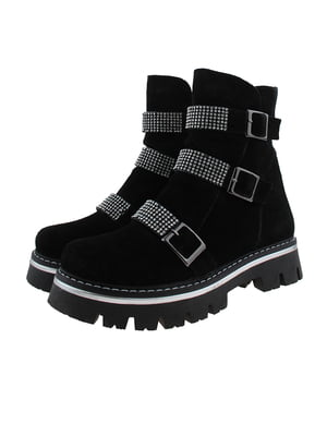 Ботинки черные | 5341128