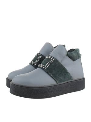 Ботинки серые | 5341131