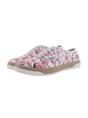 Кеди біло-рожеві | 5341161