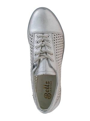 Туфлі сріблясто-білі | 5341206