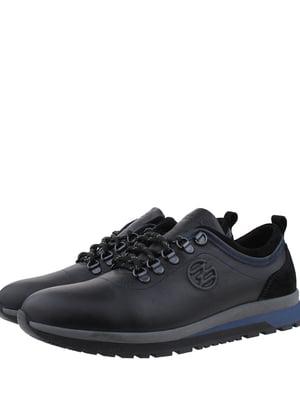 Кроссовки черно-синие   5339246