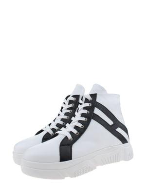 Черевики біло-чорні | 5341248