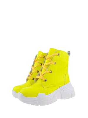 Черевики жовті | 5341267