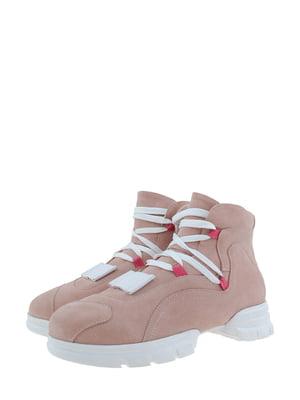 Ботинки пудрового цвета | 5341282