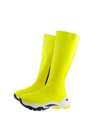 Чоботи жовті | 5341471