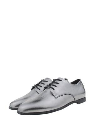 Туфли никелевого цвета | 5341490
