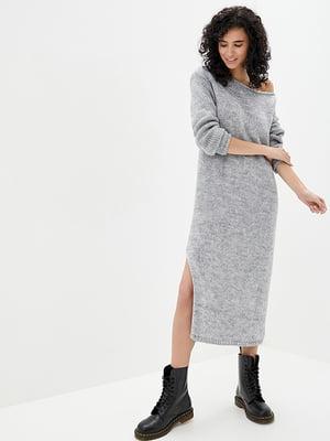 Сукня світло-сіра | 5341109