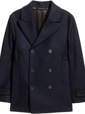 Пальто темно-синє | 5312562