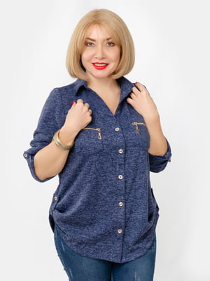 Рубашка синяя | 5341671