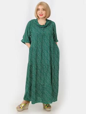Платье зеленое | 5341689