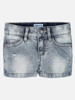 Шорти джинсові блакитні | 5327126