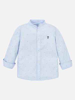 Рубашка голубая | 5327233