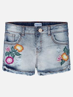 Шорти джинсові сині | 5327274