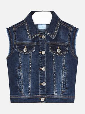 Жилет джинсовий синій | 5327277