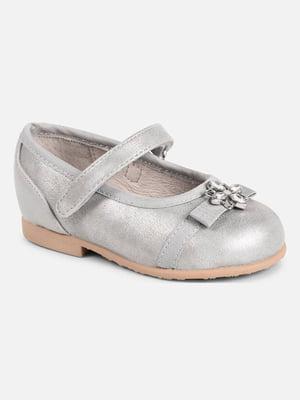 Туфлі сріблясті | 5327473