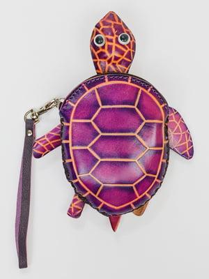Брелок-ключниця фіолетовий | 5335851
