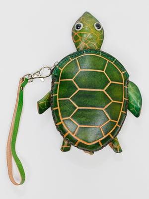 Брелок-ключниця зелений | 5335853