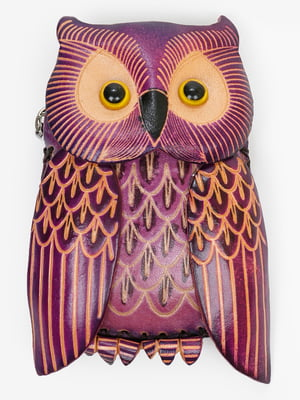 Брелок-ключниця фіолетовий | 5340530
